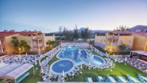 Compostela Beach Golf Apartments and Siam Park Splash World Free Child Places