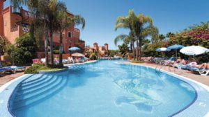 Villa Mandi and Siam Park Pools