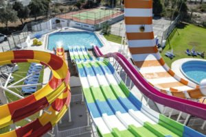 Leonardo Laura Splash Resort Water park slides