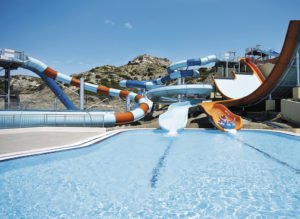 Atlantica Porto Bello Beach Slides and pool