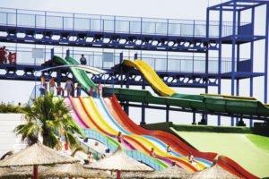 Hotel Saturno Water Slides