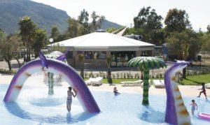 Hotel Saturno Children's splash park