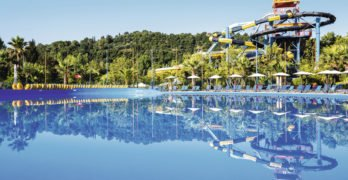 Aqualand Village in Corfu