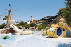 Children's splash park