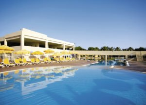 Holiday Village Atlantica Kos View of the pool