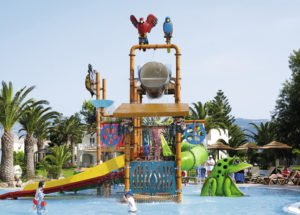 Children's Splash pool Holiday Village Atlantica Kos