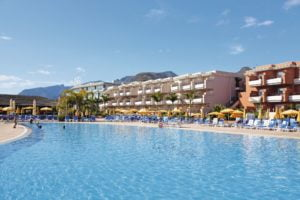 Holiday Village Tenerife View of the pool