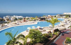 Holiday Village Tenerife View of a pool and the sea