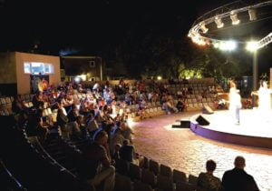 TUI BLUE Atlantica Creta Paradise Evening entertainment stage