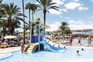 Kids' splash park
