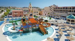 TUI Family Life Atlantica Aegean Blue Splash park and hotel