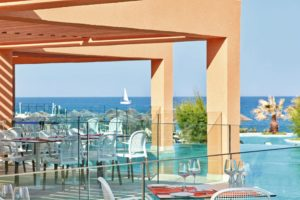 TUI Family Life Atlantica Aegean Blue Balcony dining area