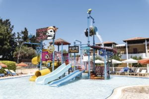 Kids Pool and waterslides