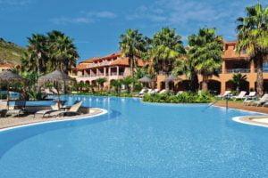 Hotel Pestana Porto Santo lagoon style outdoor pool