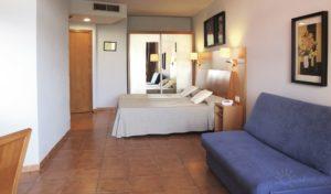 Villa Romana in Salou, Costa Dorada, Spain hotel bedroom