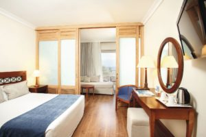 TUI BLUE Kerkyra Golf Hotel bedroom with sliding doors