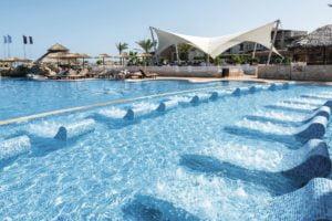 TUI SENSATORI Resort Atlantica Caldera Palace pool with seats