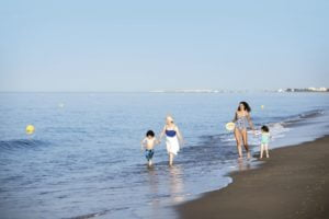 TUI BLUE Kerkyra Golf Family at the beach