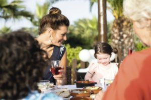 TUI BLUE Kerkyra Golf Family meal outdoors