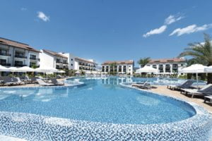 TUI Sensatori Resort Barut Fethiye pool with sunbeds