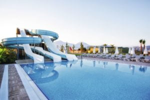 TUI Sensatori Resort Barut Fethiye pool with waterslides