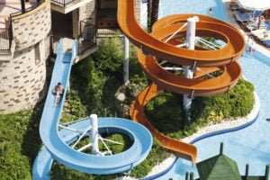 Pegasos Royal waterslides