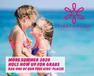 First Choice Summer 2020 / 2021 Free Child Places