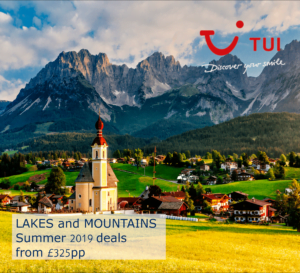 Lakes and Mountains Free Child Places