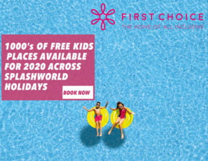 Splashworld 2020 / 2021 Free Child Places