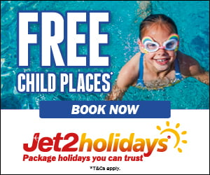 Jet2Holidays Free Child Places